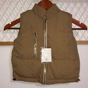 Kids Zipper Puffer Vest